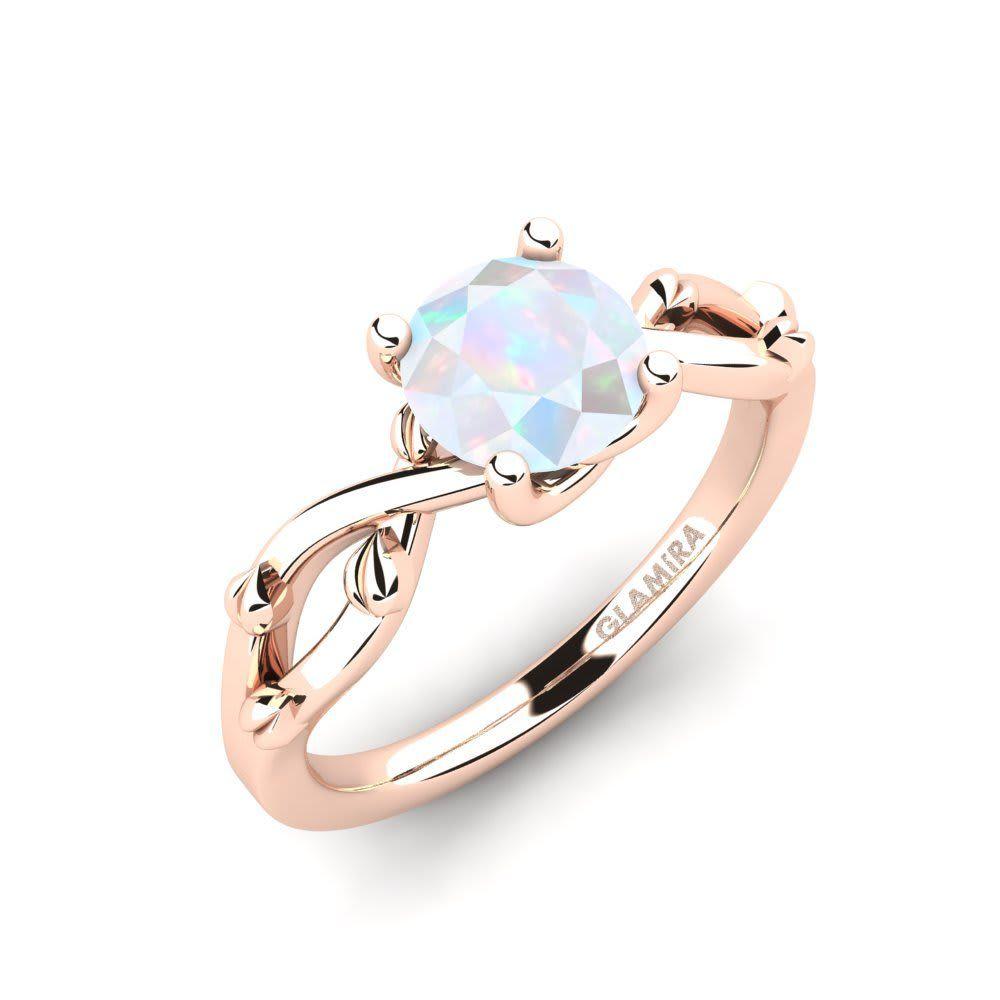 Details about  /1.0 Princess Designer Statement Bridal Classic Pink Stone Ring 14k Rose Gold