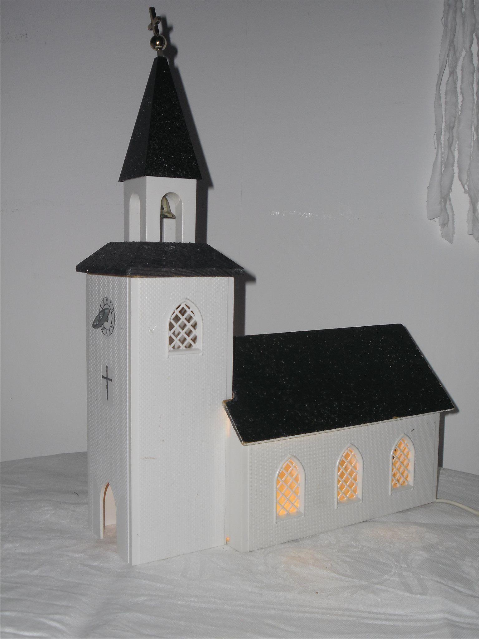 jul kyrka belysning