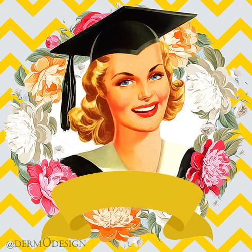 ثيمات مجانية من Derm0design ثيمات التخرج 2016 Graduation Art Vintage Graduation Graduation Wallpaper