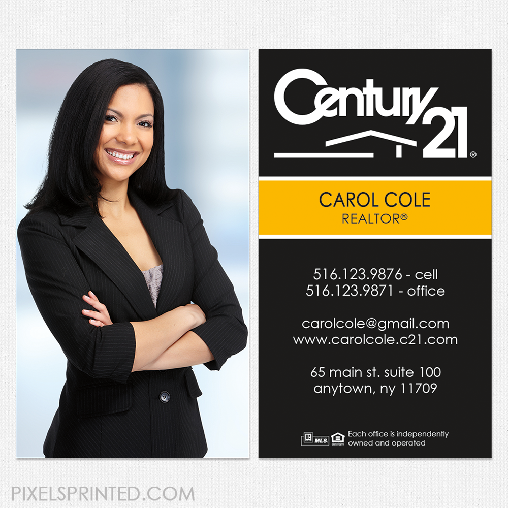 Century 21 Business Cards | Unlimitedgamers.co