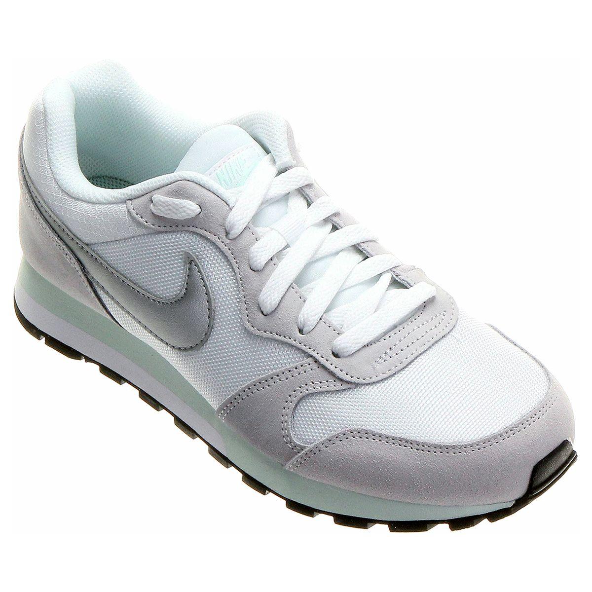 Tênis Nike Md Runner 2 Branco  734434d21630a