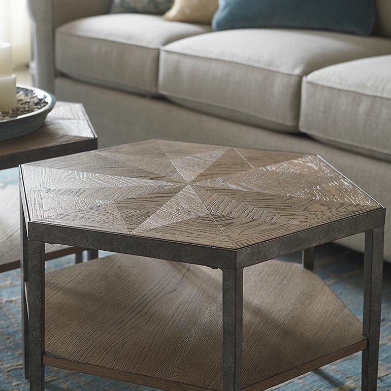 Best Bratton Hexagon Bunching Cocktail Furniture Table 640 x 480