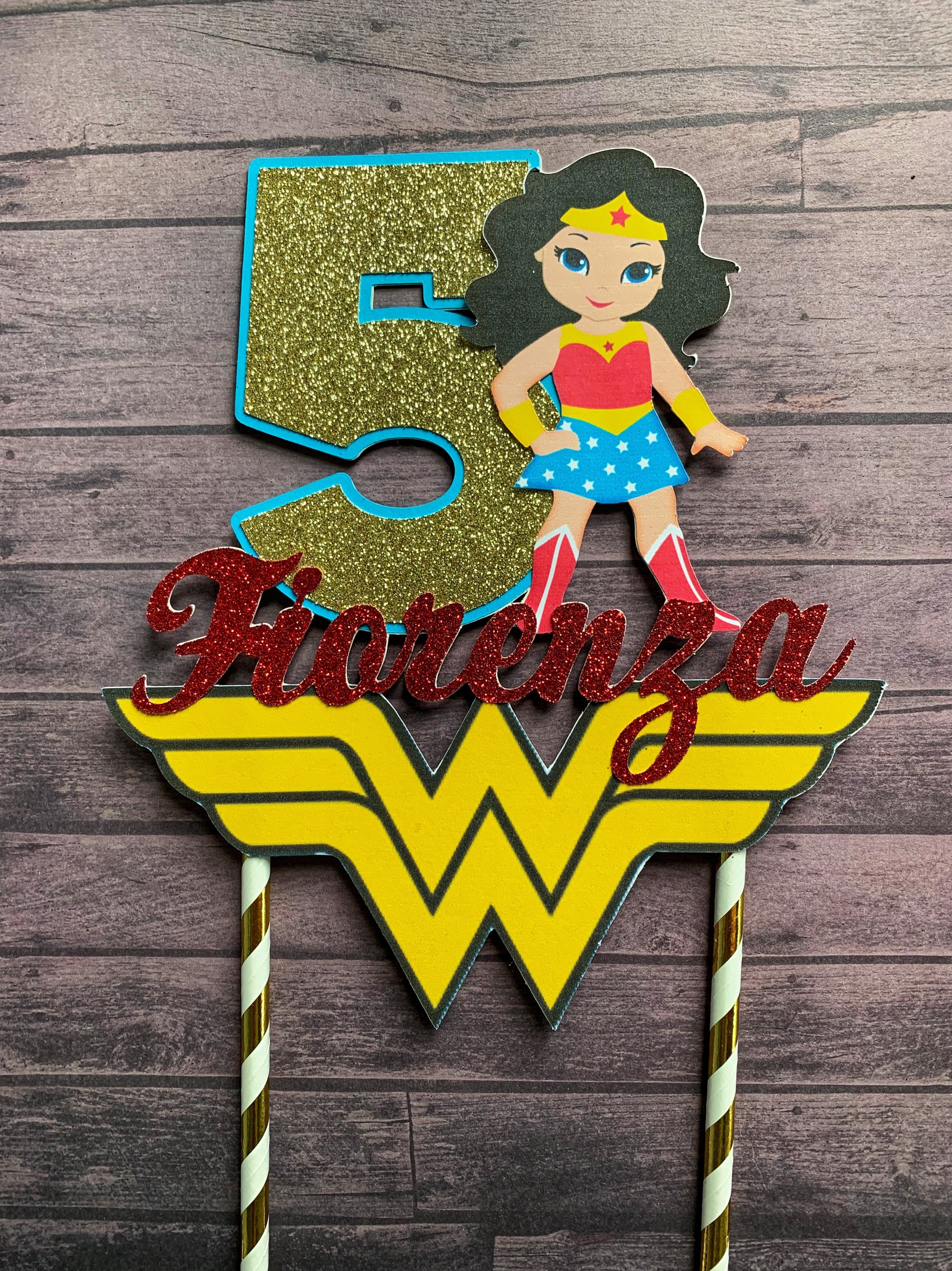 Oneder Woman Cake Topper
