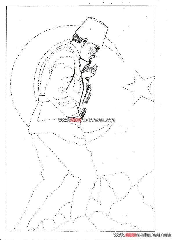 10 Kasim Ataturk U Anma Ve Ataturk Haftasi Ile Ilgili 100 Farkli Etkinlik Once Okul Oncesi Ekibi Forum Si Boyama Sayfalari Boyama Sayfalari Mandala Sanat Pop