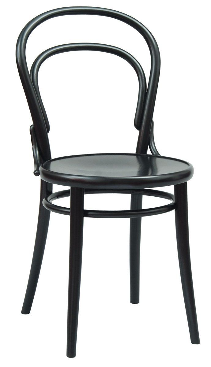 thonet nr 14 bistro chair by michael thonet in 1859 made using a unique steam bending. Black Bedroom Furniture Sets. Home Design Ideas