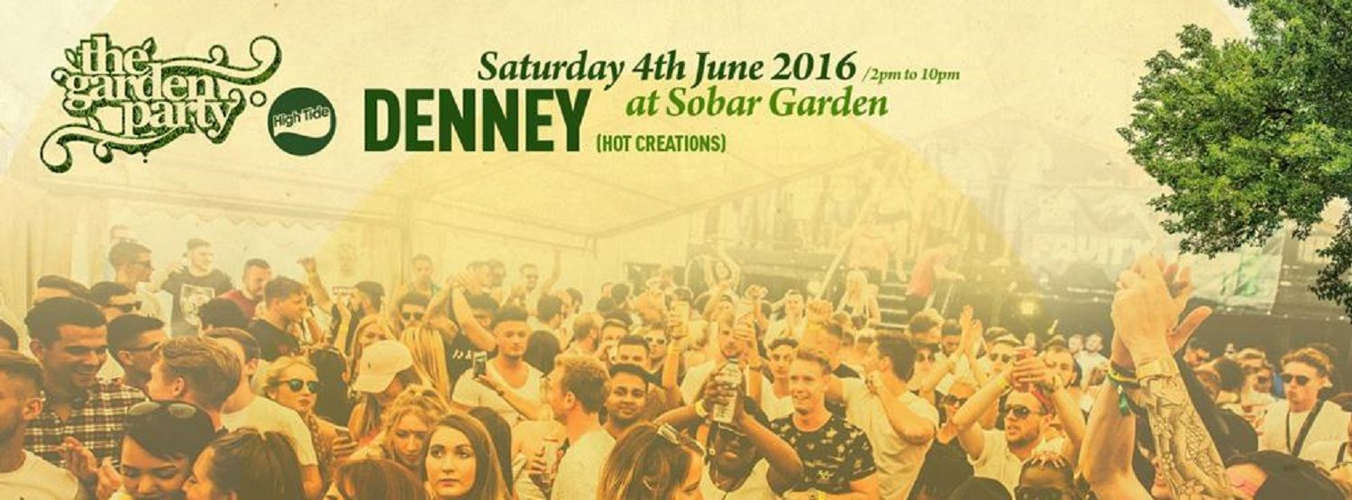 High Tide Garden Party w/ Denney Sobar Southampton