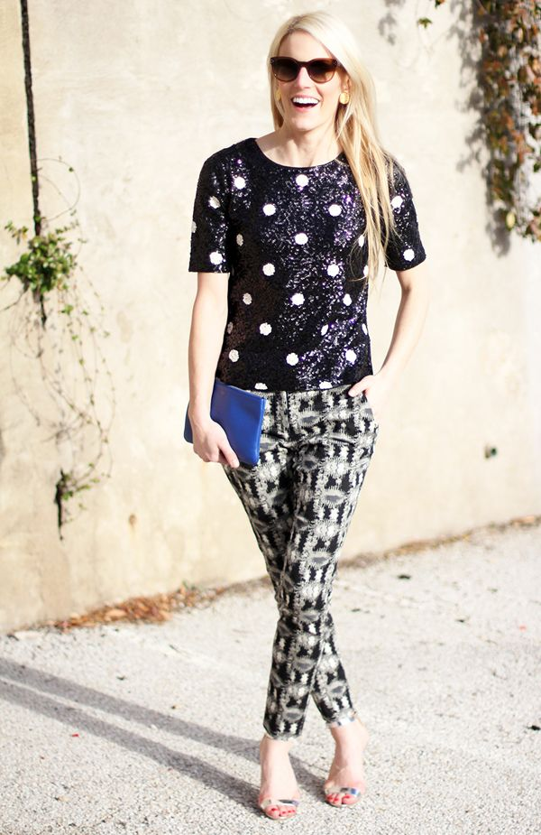Just got this top and this post is serious styling inspiration!