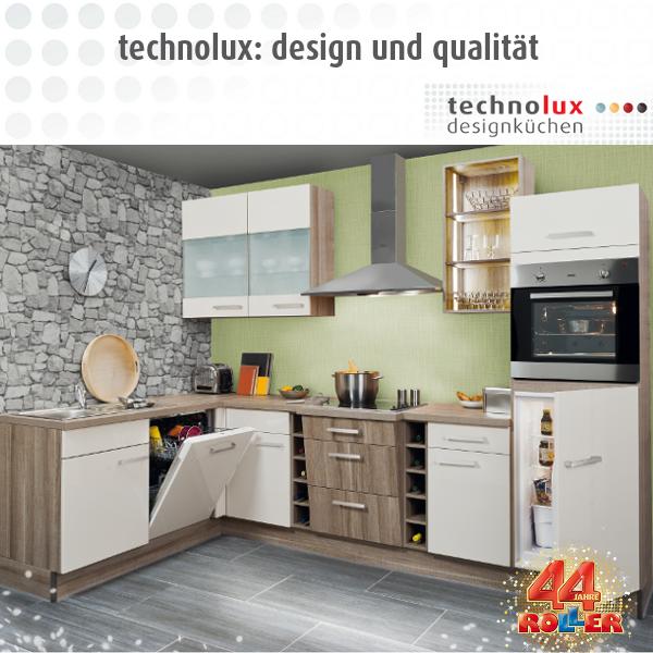 Designküchen bei ROLLER: http://www.roller.de/technolux ...