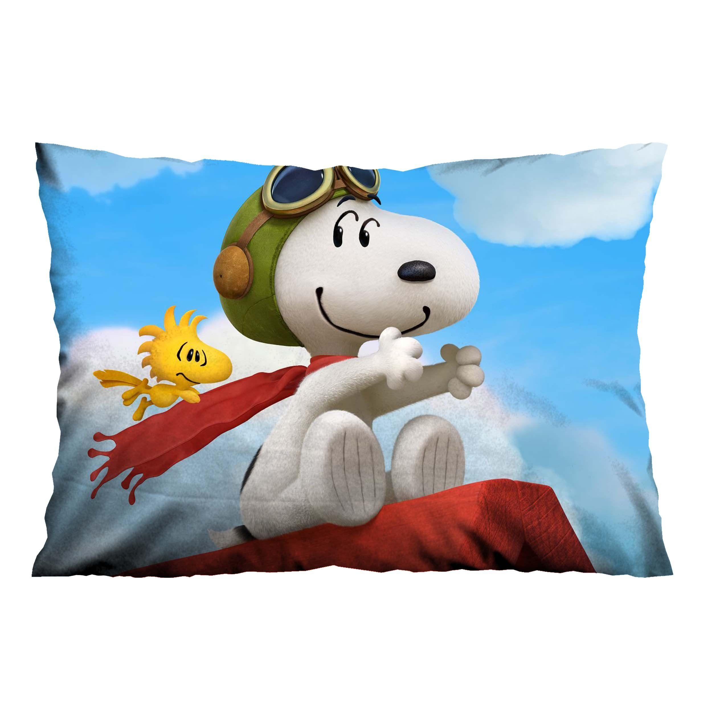 SNOOPY DOG Pillow Case Cover Recta Casefine Custom