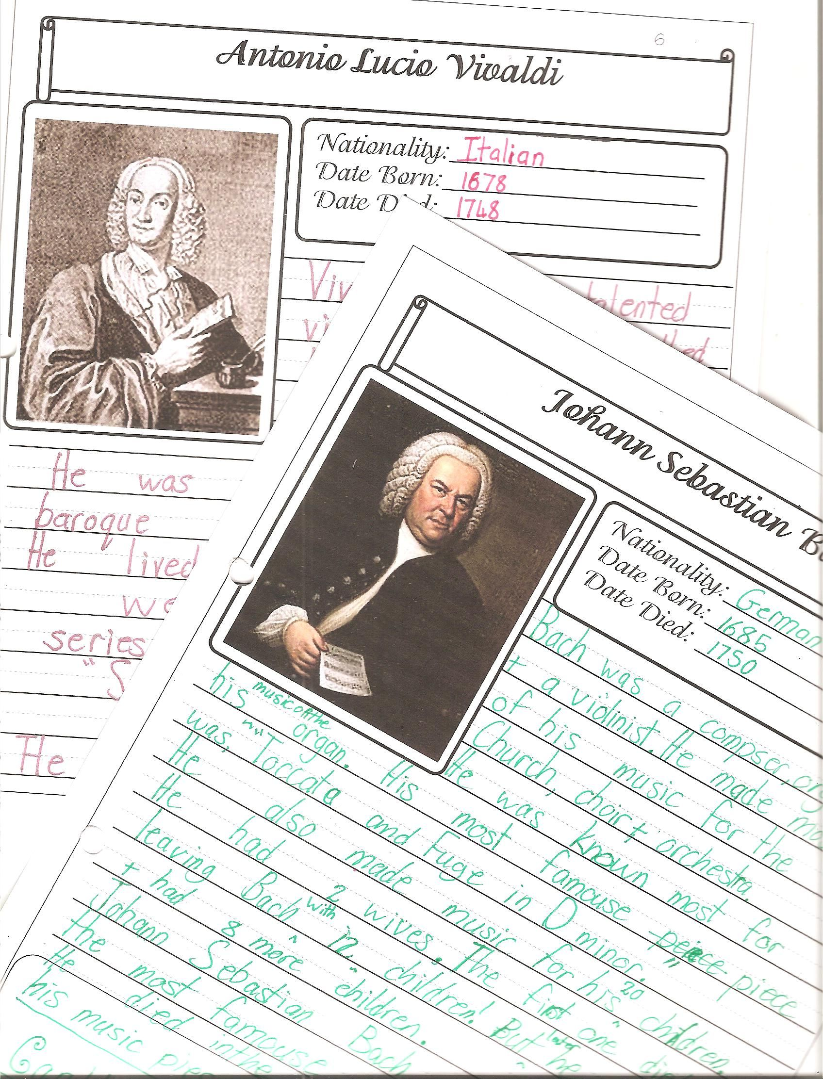 Worksheets Music Composer Worksheets famous musicians free worksheets charlotte mason and wall charts for using with masons approach to studying composers and