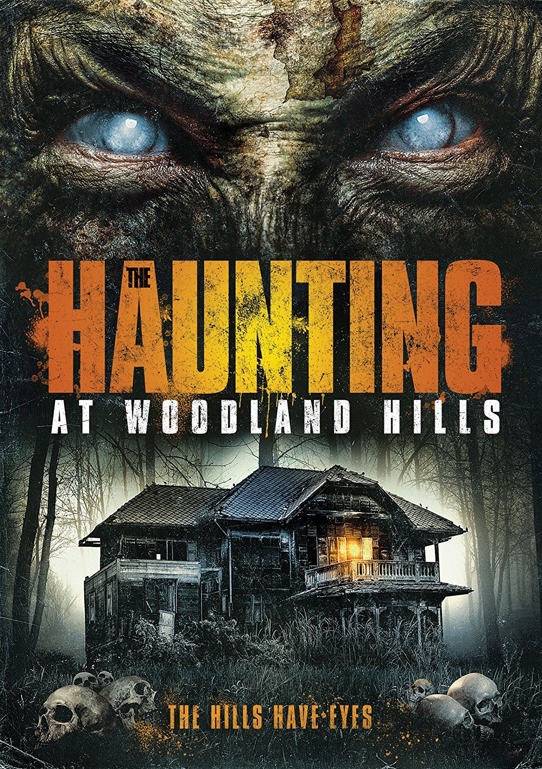 THE HAUNTING AT WOODLAND HILLS DVD (GREEN APPLE