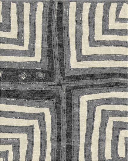 Robin Gray Design - Kuba Cross Rug