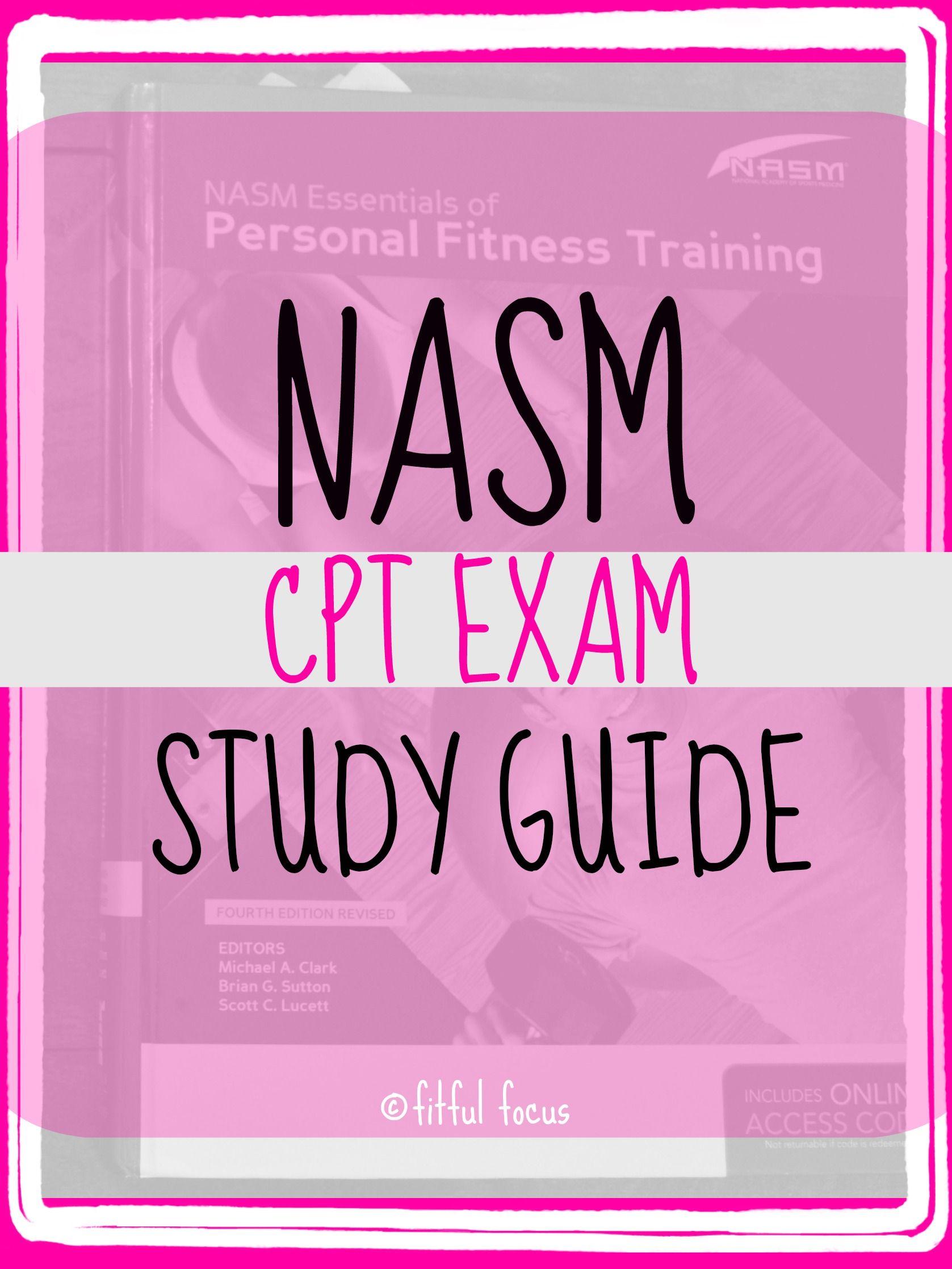 NASM cPT Study Guide via Fitful Focus