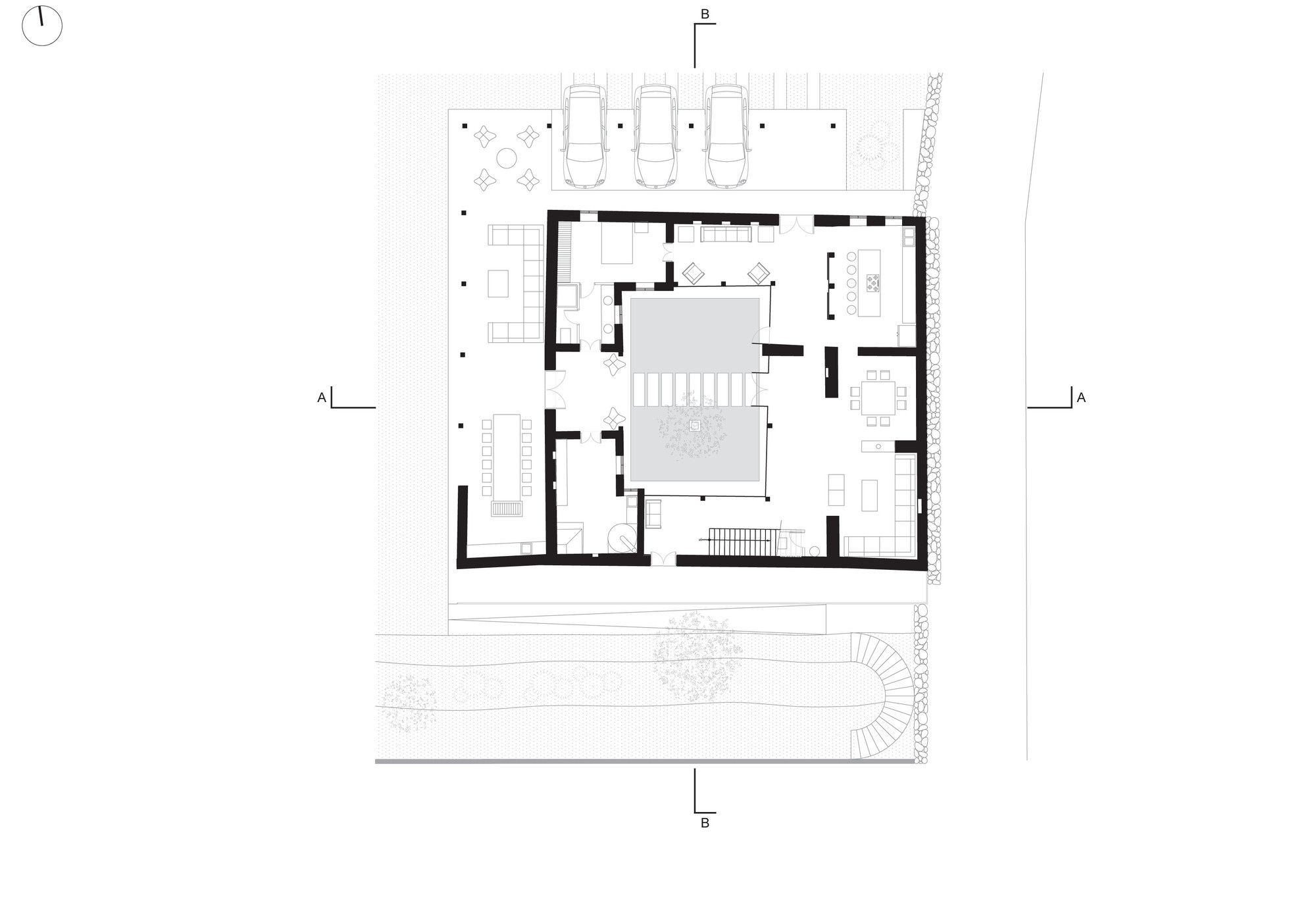 Image 18 of 21 from gallery of Loma House / Iván Andrés Quizhpe. Ground Floor Plan