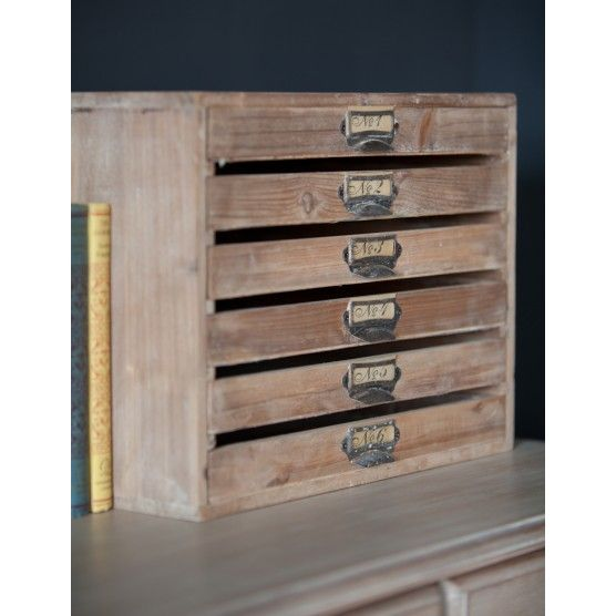 Perfect Vintage Style Filing Tray