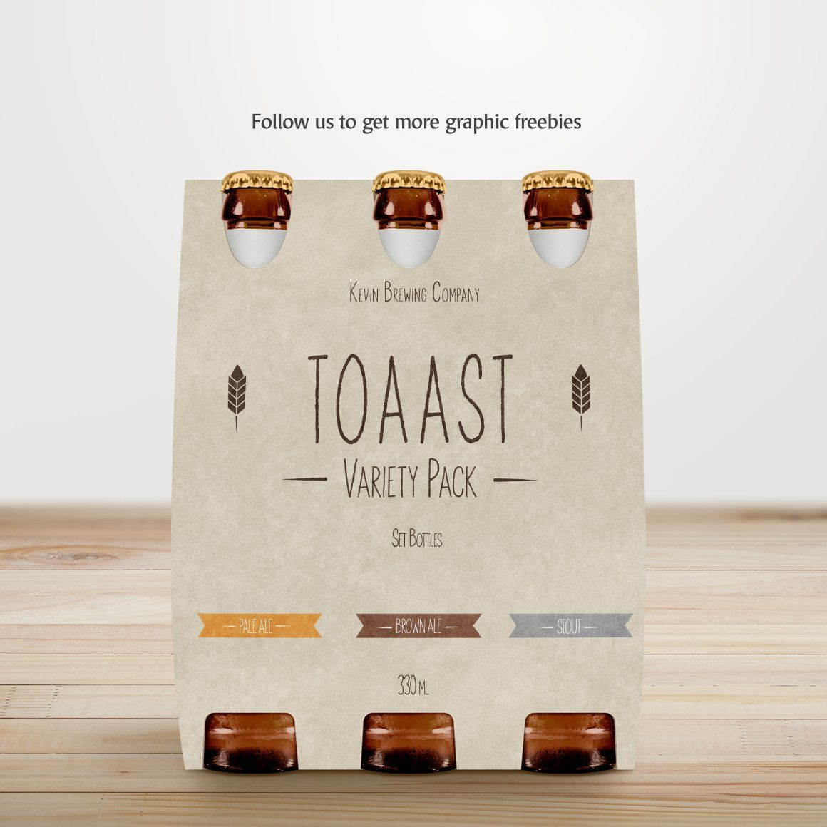 Download Beer Pack Mockup | Branding mockups, Beer pack, Stationery ...