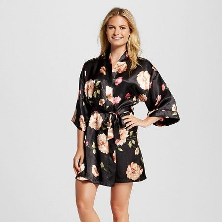 25fc9ec4b010 Women s Pajama Satin Robe - Gilligan   O Malley™   Target