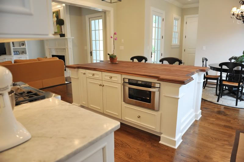 Microwave Drawer In Kitchen Island It