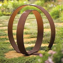 Orb Garden Sculpture