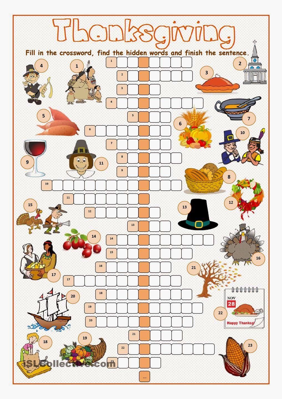 Printable crosswords