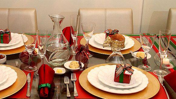 Decoracao Mesa Natal Barata Dicas 03 Natal Pinterest Mesas, Natal and Simple -> Decoração De Natal Para Mesa Quadrada