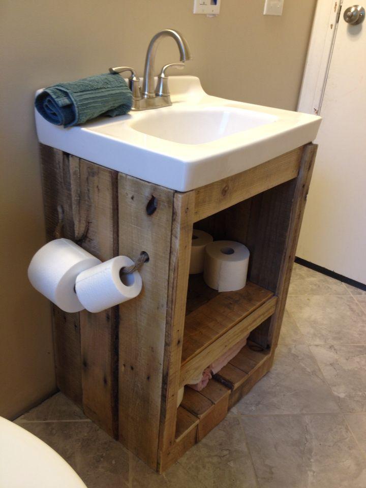 40 Amazing Rustic Bathroom Vanities Ideas Designs Home Inspiration Wood Bathroom Vanity