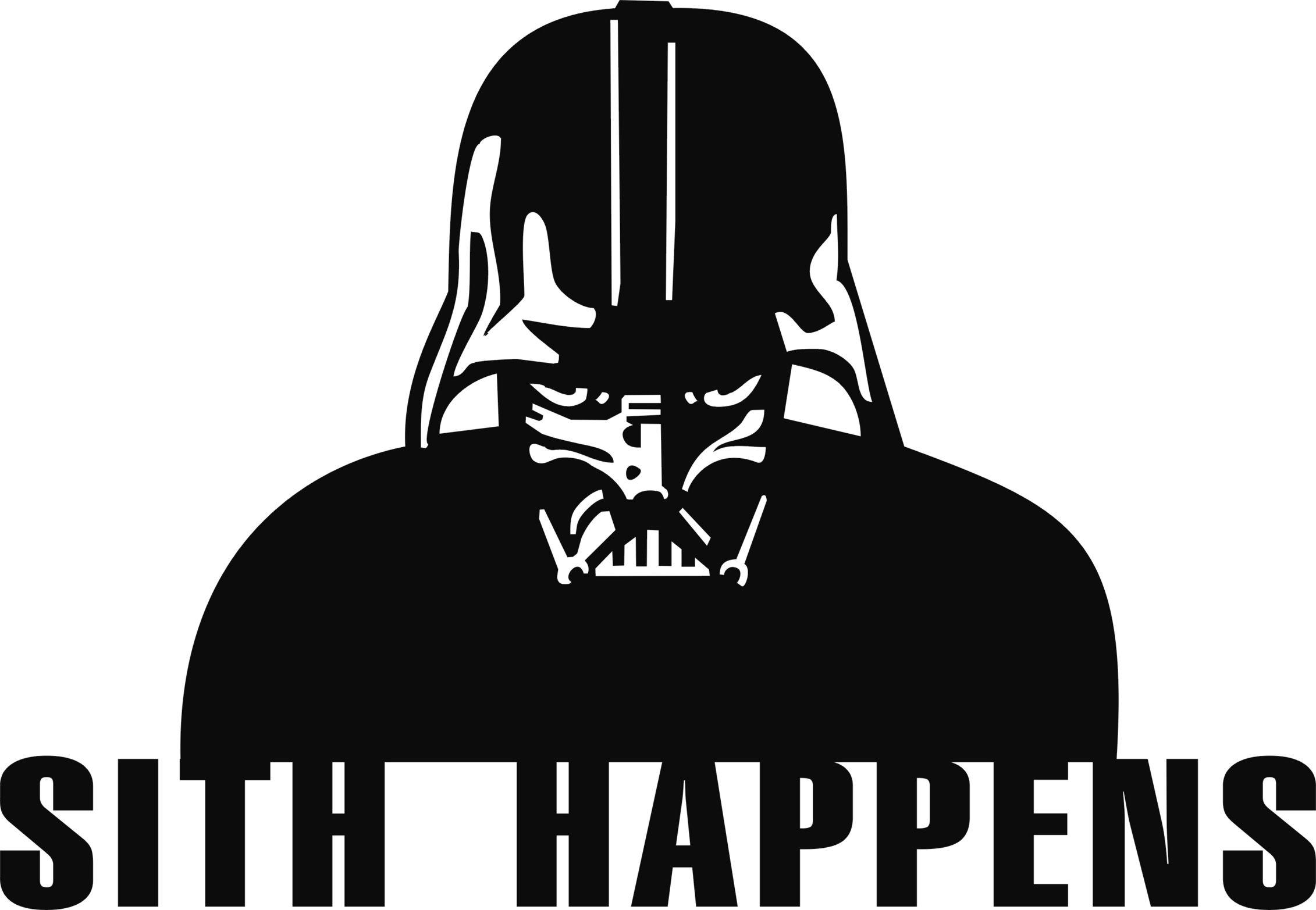 Sith happens  #starwars #darthvader