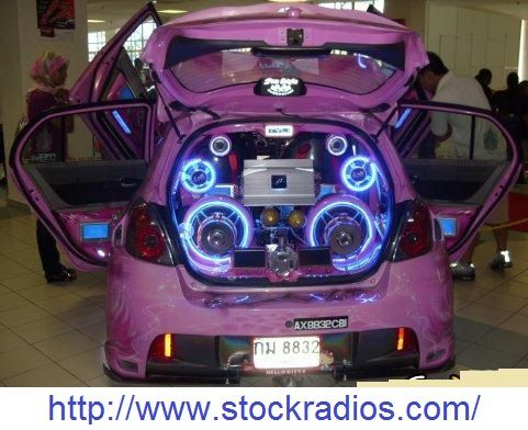 Car audio system on reasonable prices.