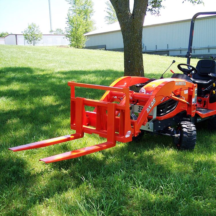 Kubota Bx2360 Accessories : Pallet forks for kubota bx series tractors