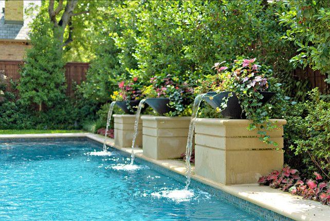Pool Waterfall Ideas small backyard with green grass Interior Design Ideas Home Bunch An Interior Design Luxury Homes Blog Pool Waterfallpool