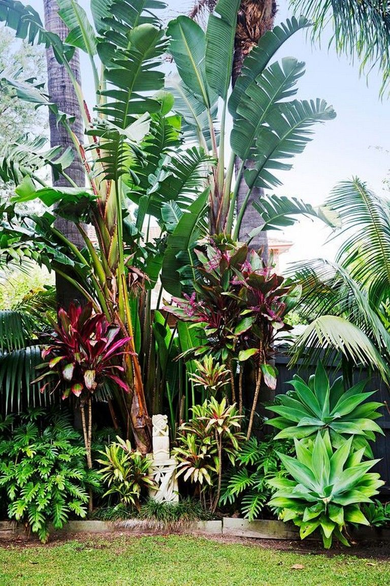 10 Inspiring Tropical Landscaping Ideas That Can Be Made Easily
