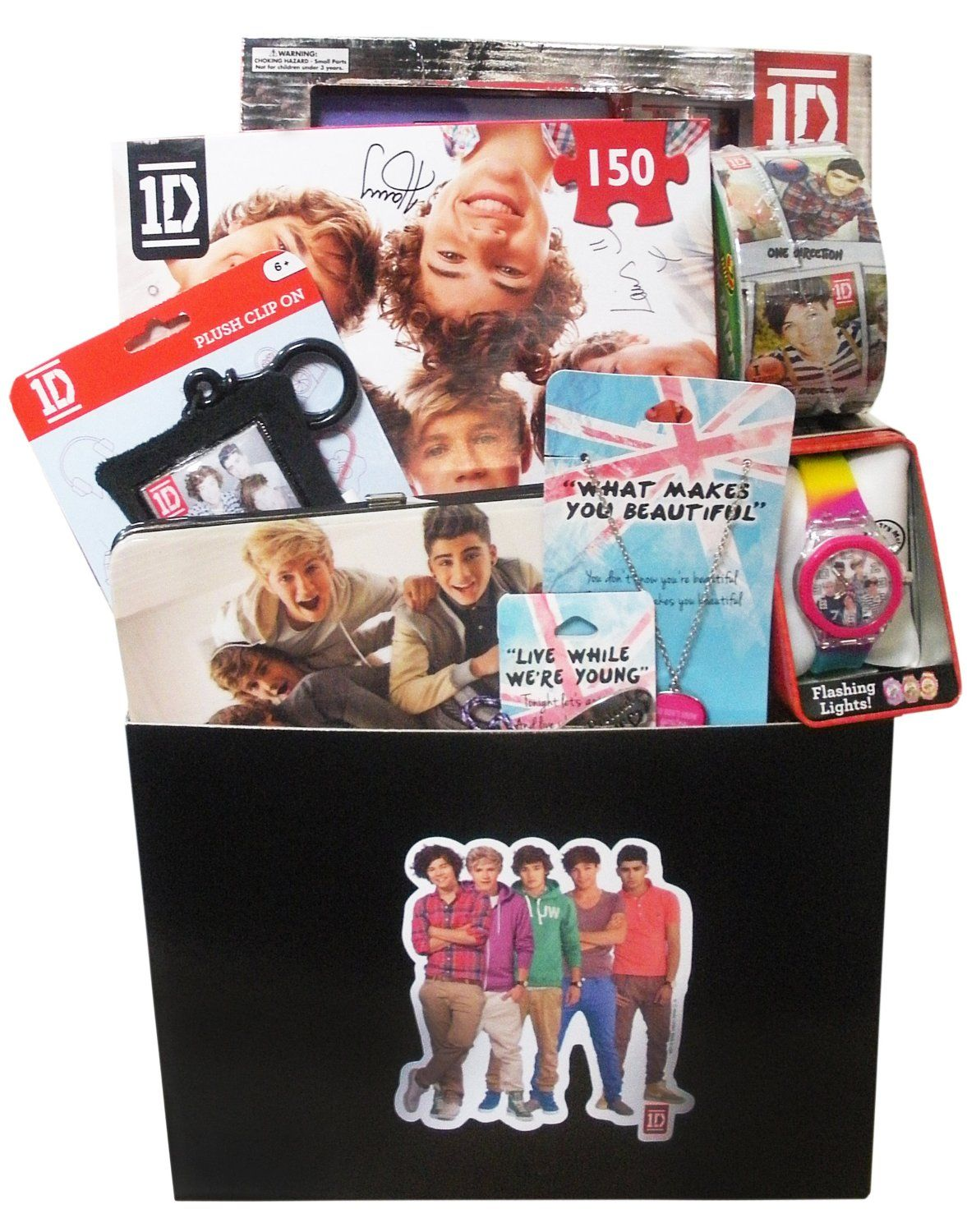 One Direction Gift Basket for Christmas, Birthday, Easter | 1 D ...