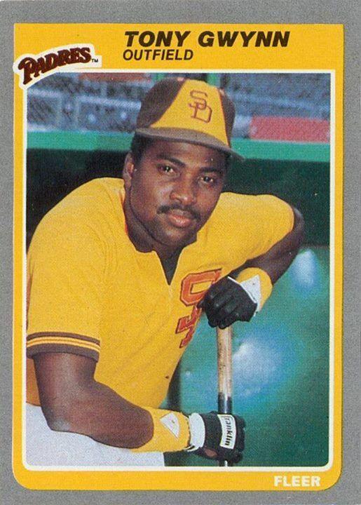 Tony Gwynn San Diego Padres Baseball Cards Baseball