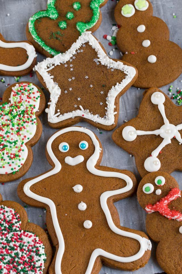 Gingerbread Cookies (soft & chewy cutouts) Recipe Best