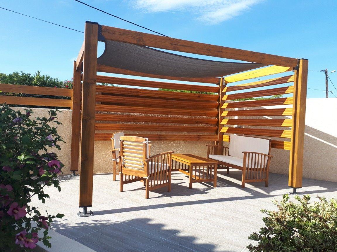 New veranda area