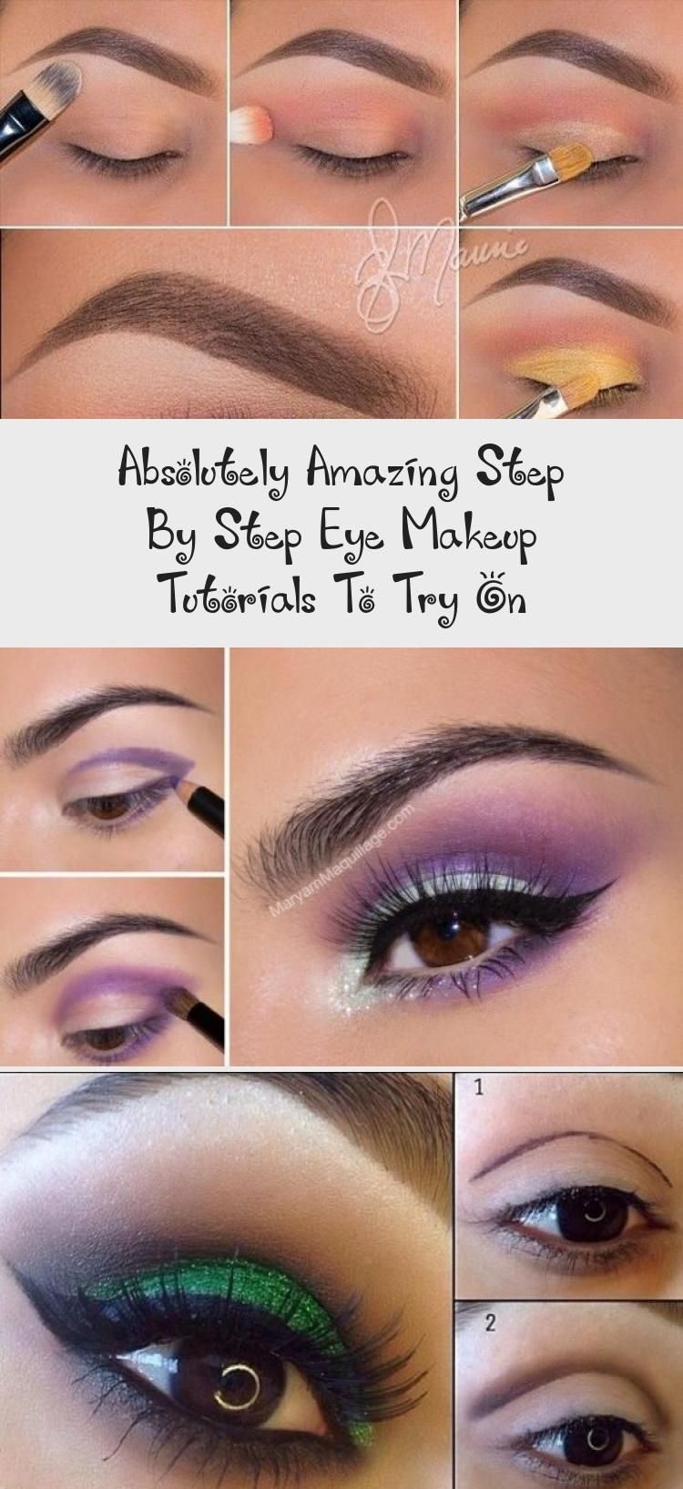 Photo of Absolutely Amazing Step By Step Eye Makeup Tutorials To Try On – Make-up