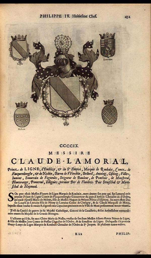 415. 1646; Claude Lamoral, Prince of Ligne (1610-1679).