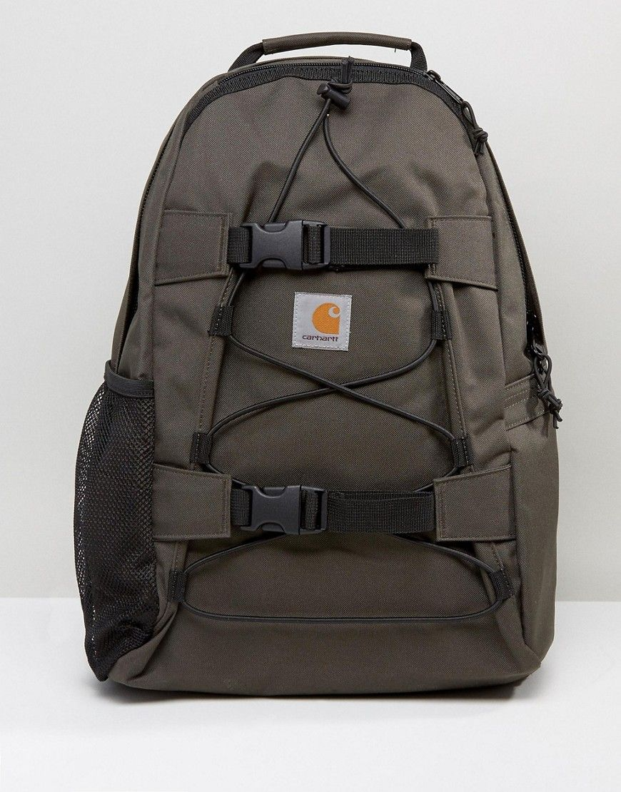 CARHARTT WIP KICKFLIP BACKPACK - GREEN.  carhartt  bags  canvas  backpacks   polyester