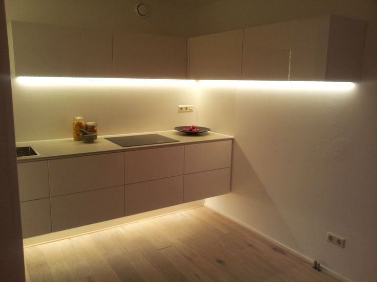 Great Ways For Lighting A Kitchen: Image Result For Behind Tv Led Stripe Gyps Board Ideas