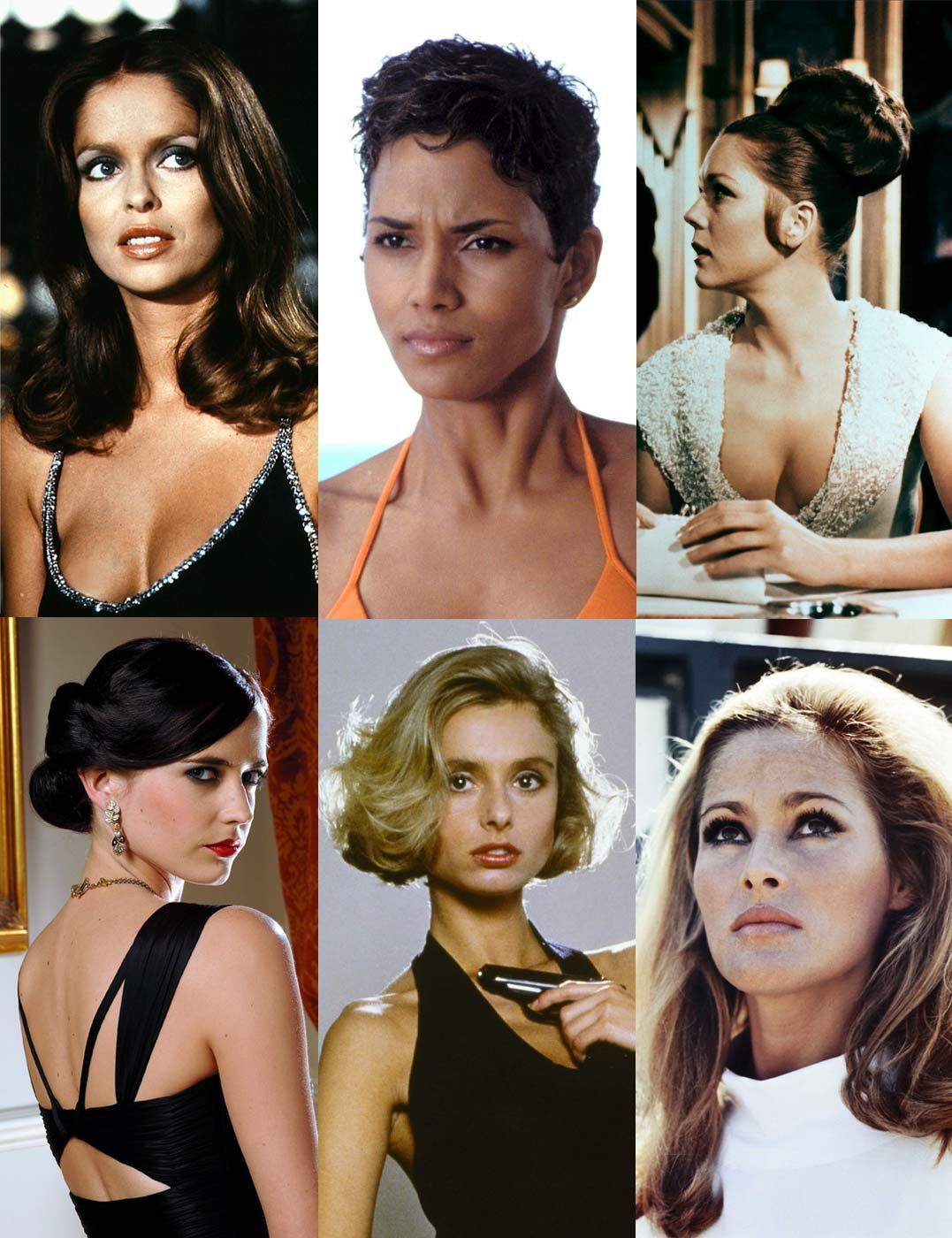 The Most Iconic Bond Girl Hairstyles Of All Time Hairstyles Girl