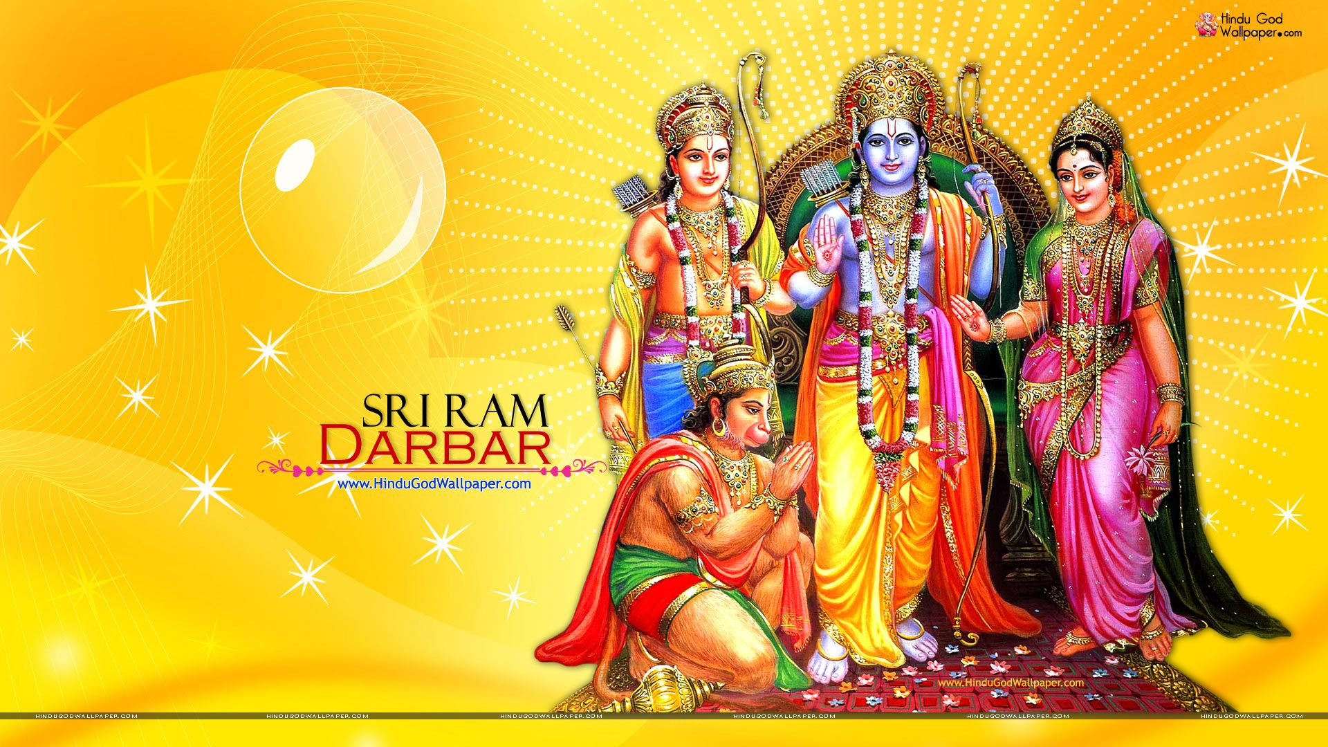 Lord Rama HD wallpaper for download in laptop and desktop