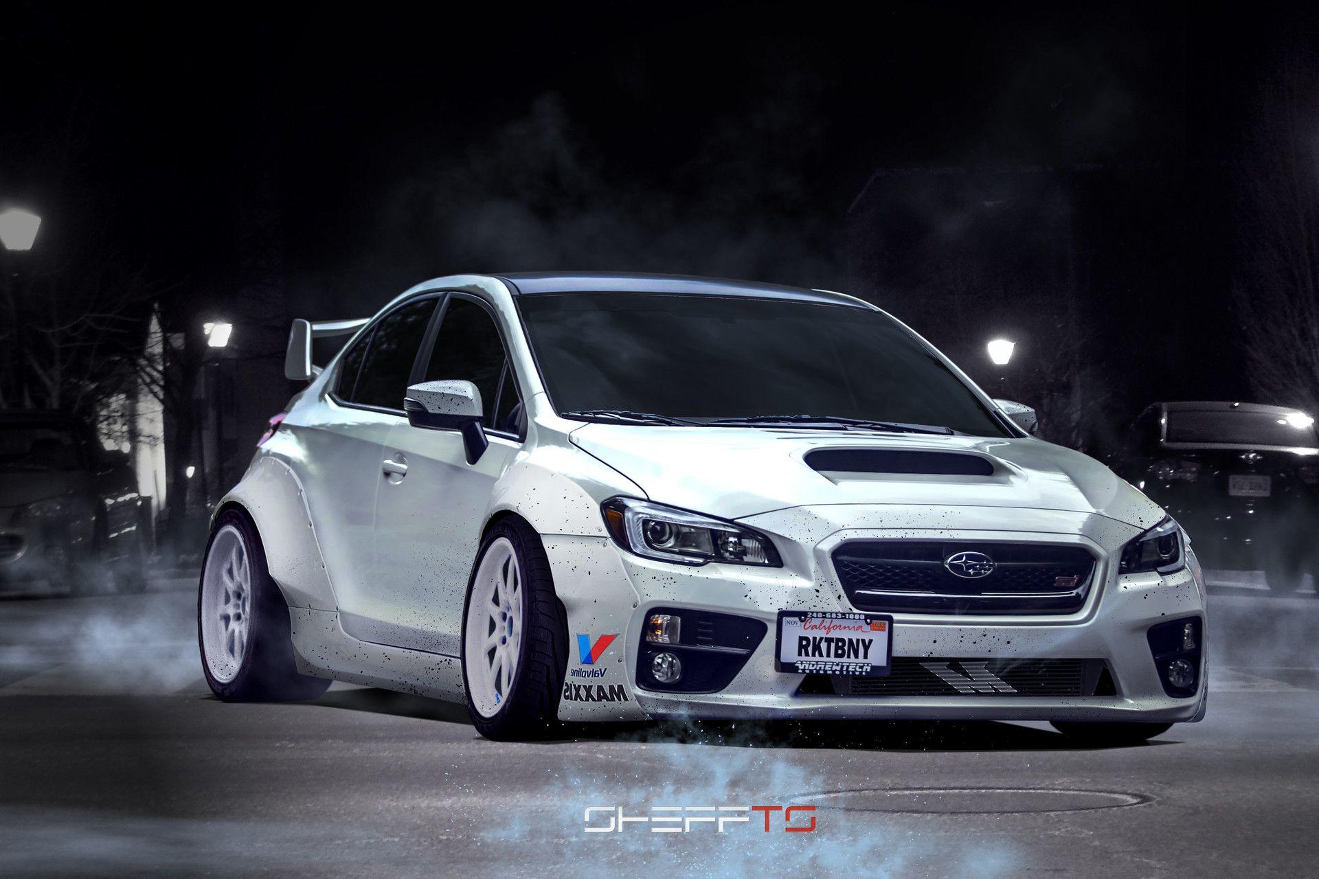"ArtStation - Subaru WRX STI ""ROCKET BUNNY"" 2015 , SHEFFTS ..."