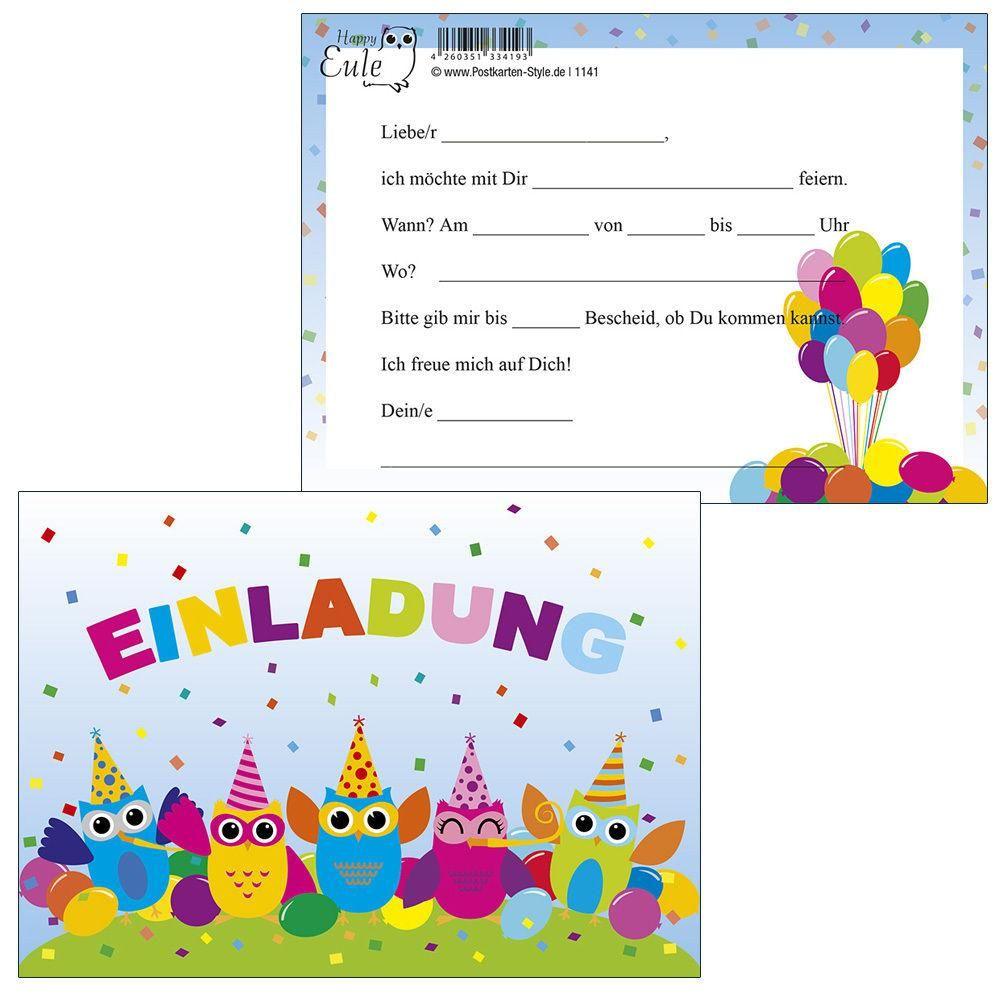 einladungskarten-kindergeburtstag-ausdrucken | dies&das | pinterest, Einladungsentwurf
