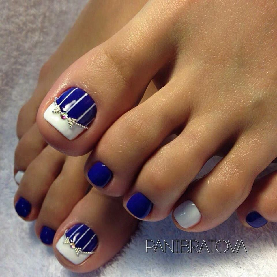 Pin by Cristina Beautyforyou on nails | Pinterest | Pedicures, Toe ...