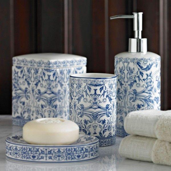 Orsay Bath Accessories Blue Bathroom Accessories Bathroom