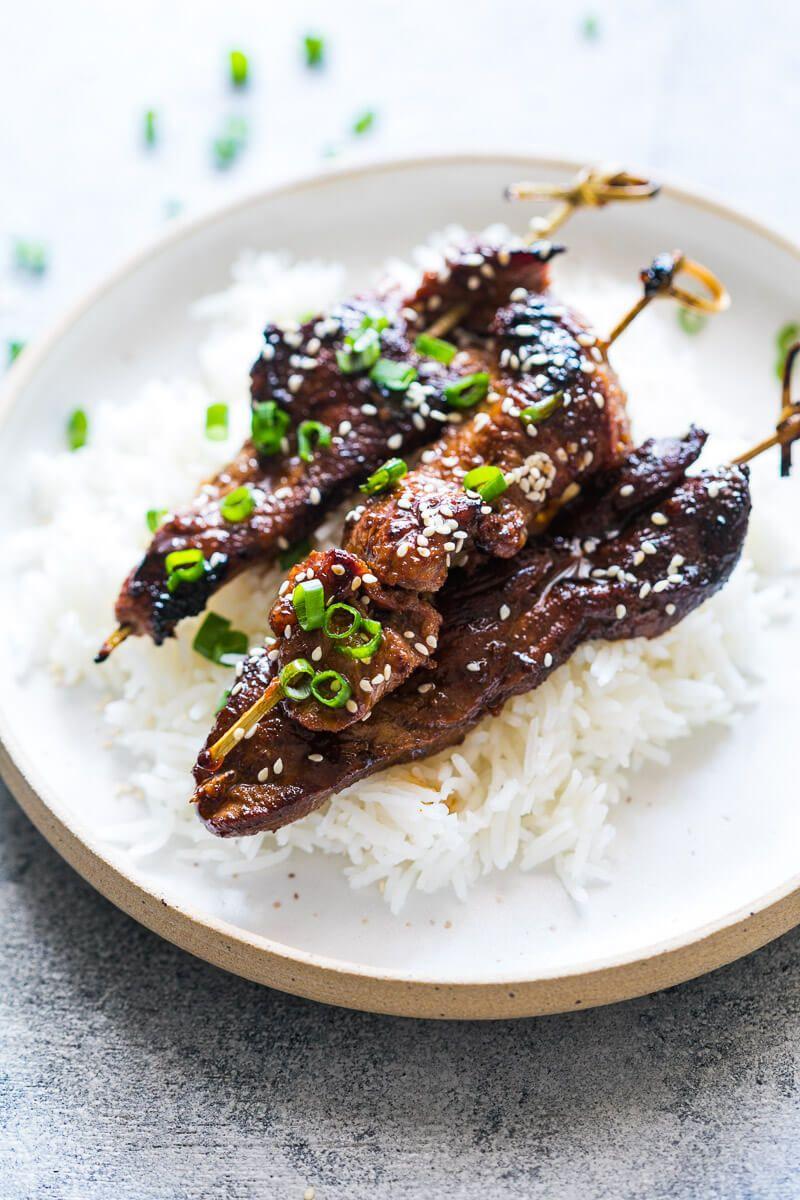 Beef Yakitori Easy Peasy Meals Recipe Beef Beef Strips Yakitori Recipe