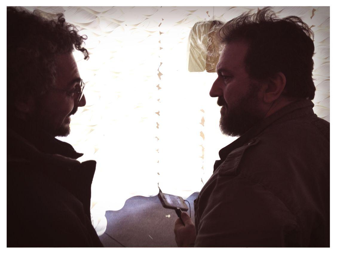 LZF Lamps crew:  Vassilis Pappas & Sandro Tothill