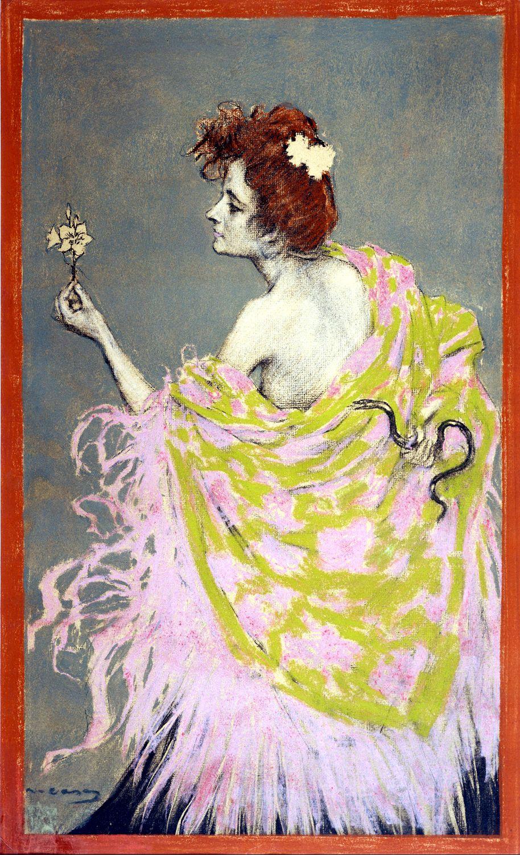 Poster design 1900 - Art By Ramon Casas 1900 Original Poster Design Of Sifilis