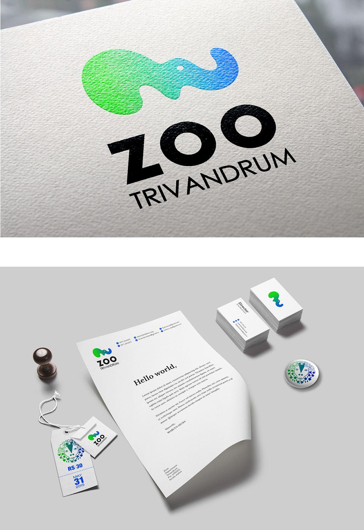 trivandrum zoo on Behance