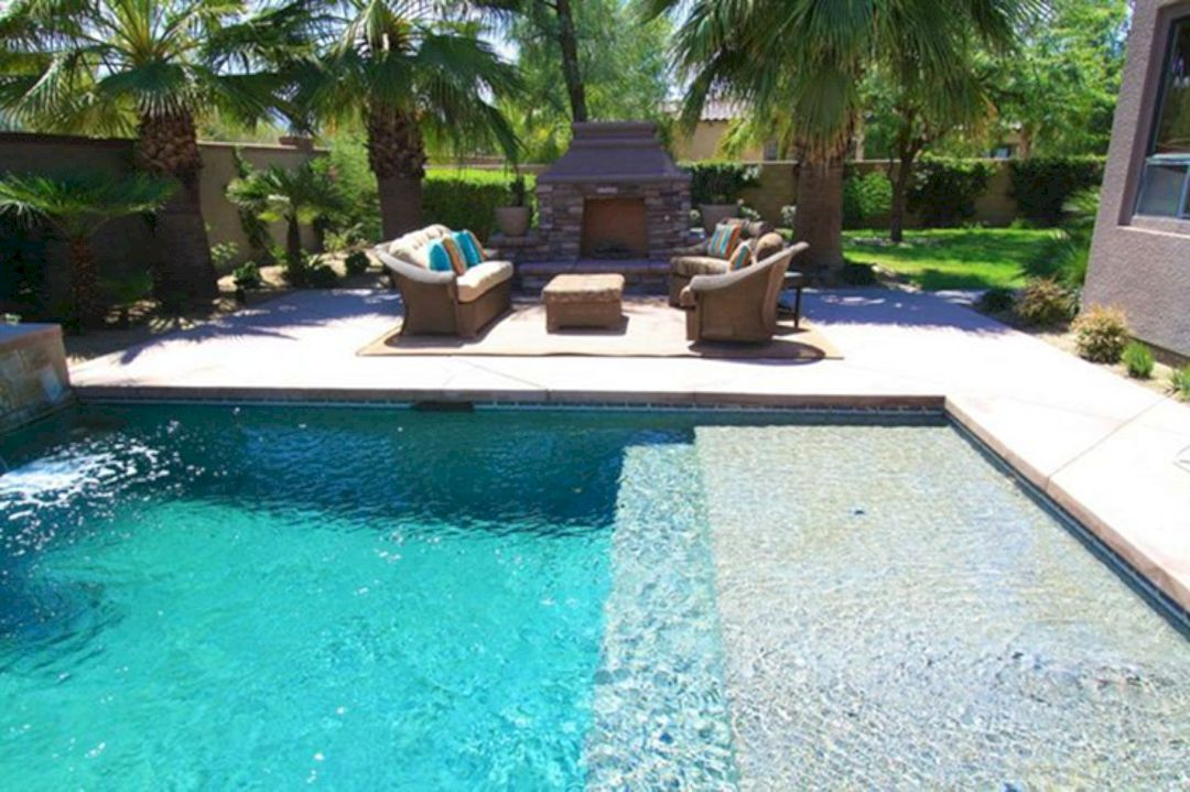 Top Tips To Design A Small Pool For A Family Of Four Pools For Small Yards Pool Landscaping Small Pools